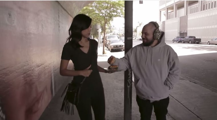 Comedian Tess Paras puts a new spin on videos depicting the everyday harassment women endure, with an absurd metaphor.