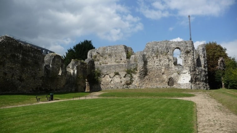 Image: High altar of Reading Abbey