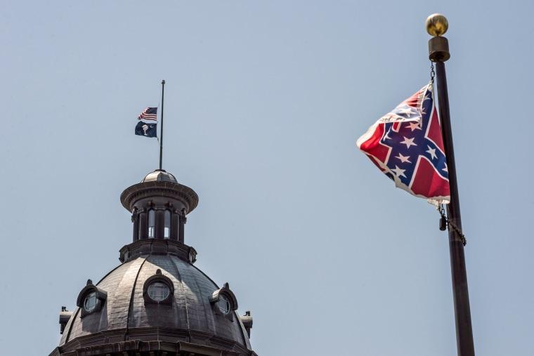Image: South Carolina Senators Mourn Death Of Sen. Pinckney In Church Shooting