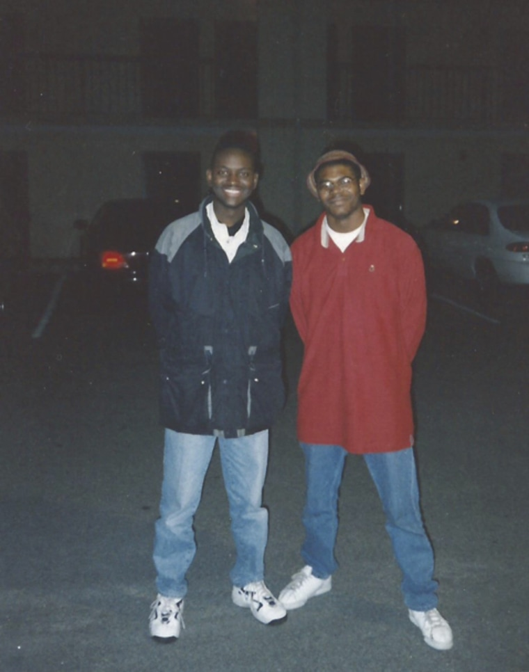 Clem Pinckney and Jason Johnson in 1997.