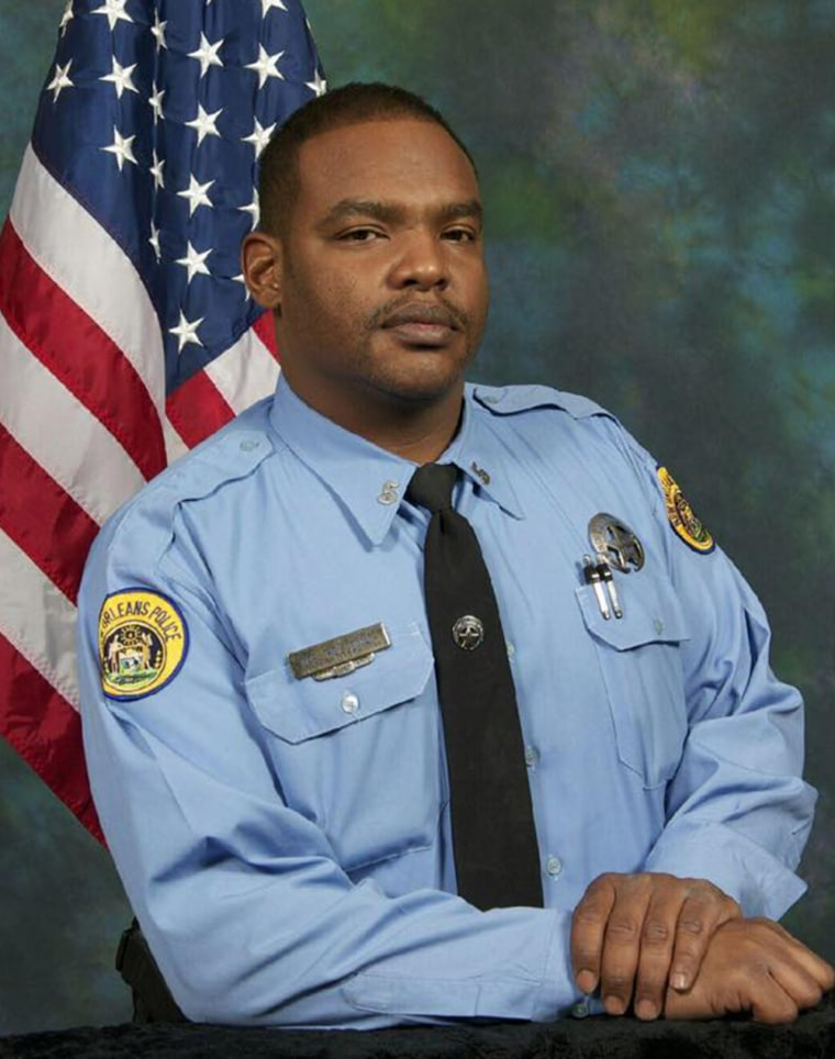 New Orleans Police Officer Daryle Holloway.