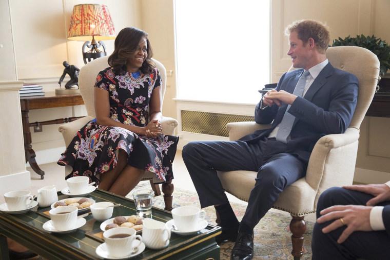 Michelle Obama visits London