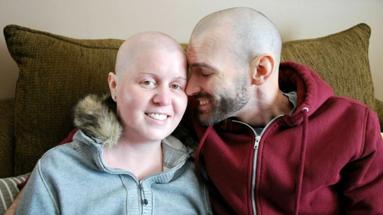 Ben and Shelby Offrink battle cancer together