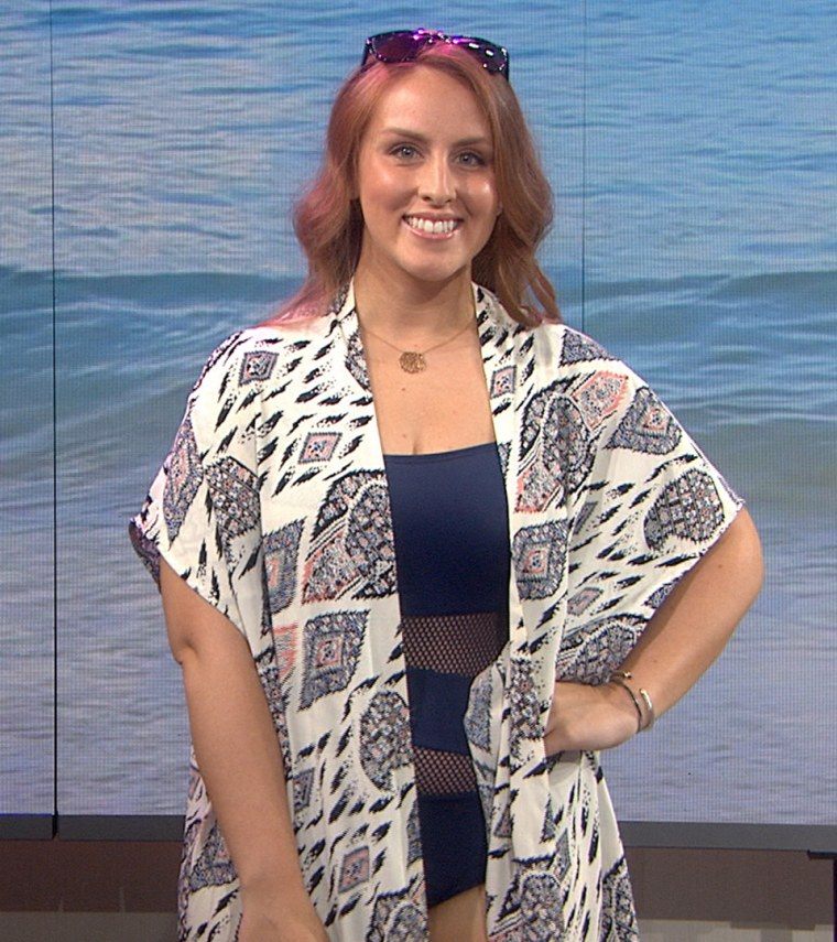 Beach to chic makeovers on the TODAY show June 16. 2015.