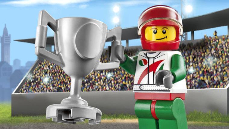 The LEGO City 60053 RACE CAR