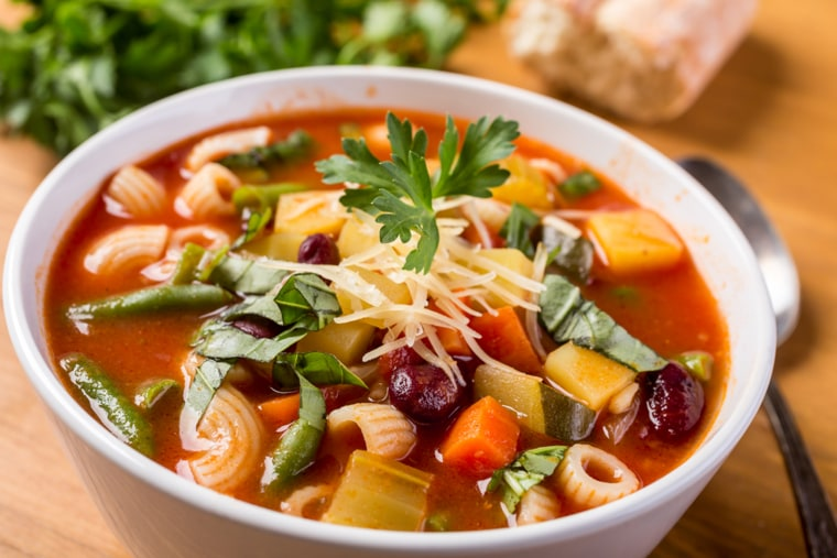 Minestrone soup - healthy, cleanse