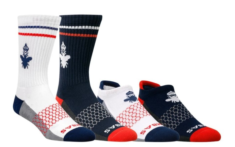 The new Bombas Americanos sock collection, which benefits homeless veterans.