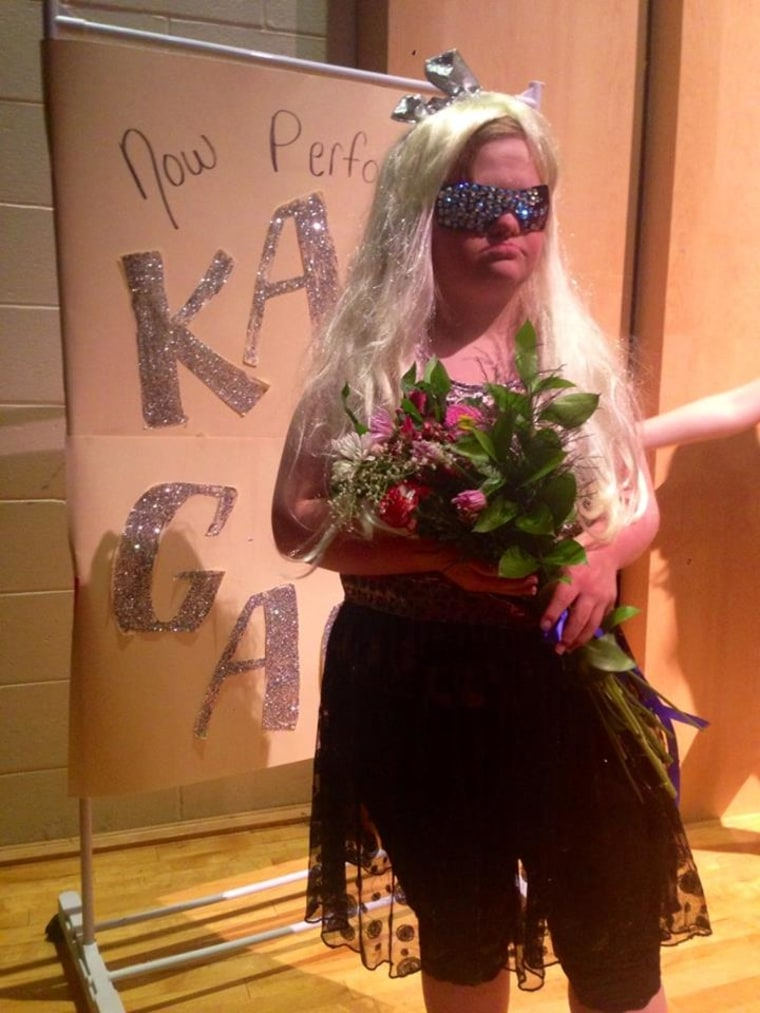"""Lady Gaga has called """"Katy Gaga,"""" a.k.a. Katie Dorman, """"the best"""" for her performance of """"Poker Face."""""""
