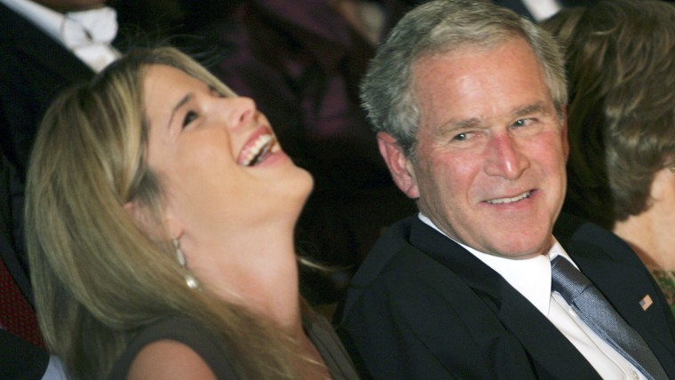 George W. Bush, Jenna Bush Hager