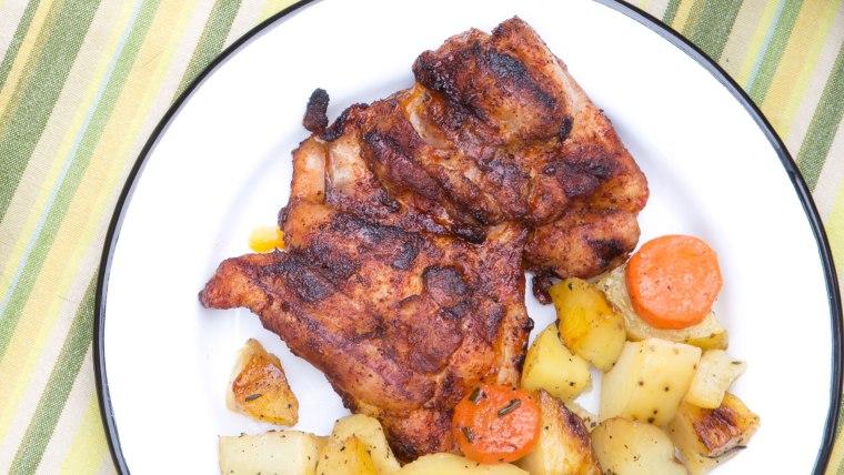 BBQ Chicken Thighs