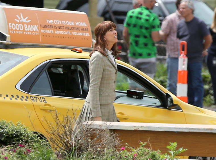 Kristen Wiig on the set of the new Ghostbusters In Boston - June 18, 2015