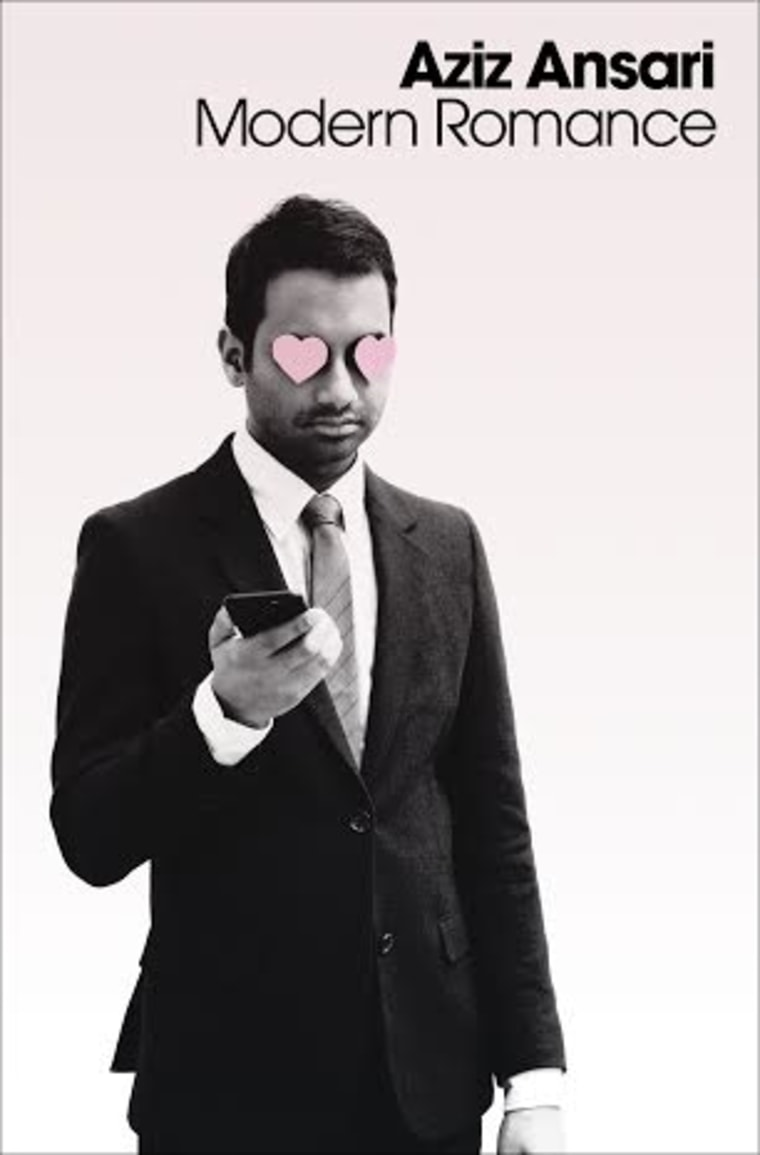 Aziz Ansari's new book about dating in the digital age, 'Modern Romance.'