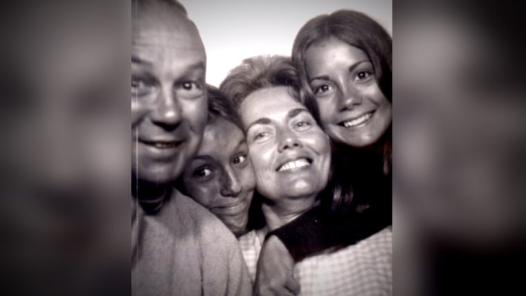 Kathie Lee with her family