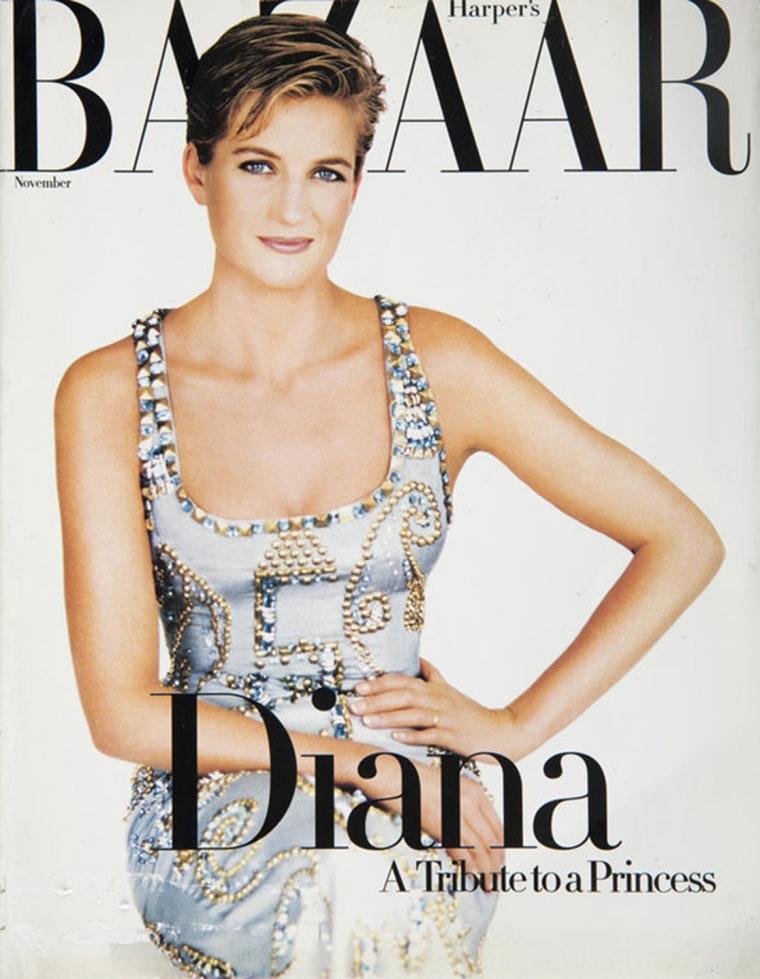 Princess Diana's infamous Harper's Bazaar Versace dress is up for auction