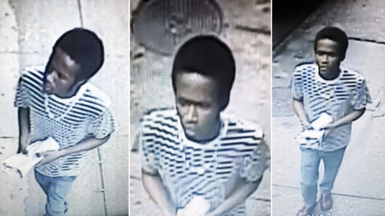 Police released surveillance images of a man suspected of targeting Asian women in random attacks across New York City.