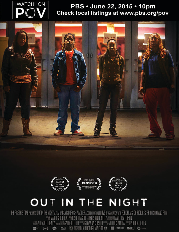Out in the Night POV poster