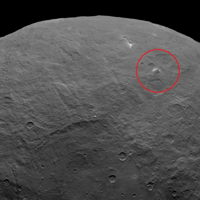 Image: Pyramid on Ceres