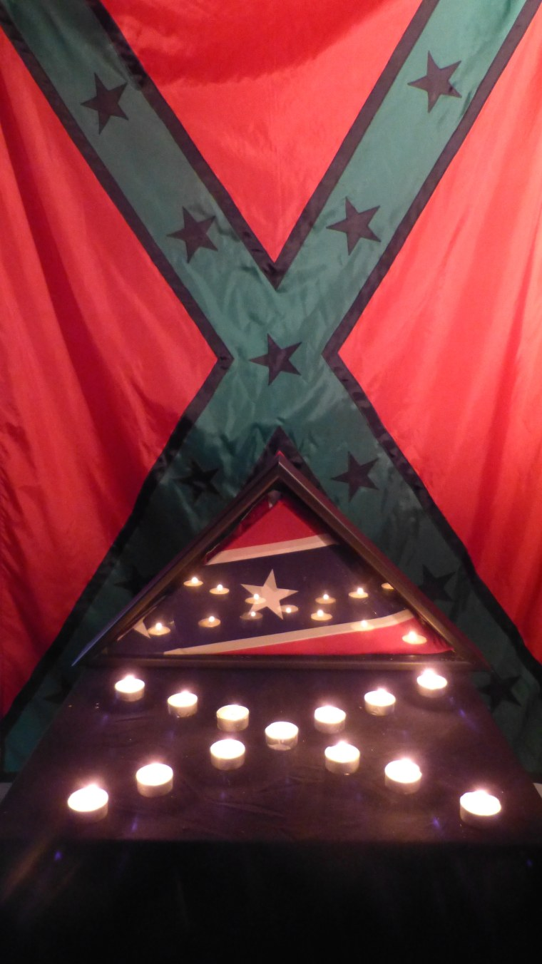 """The """"Black, Red, and Green Rebel Flag"""" from John Sims' Recoloration Proclamation project."""