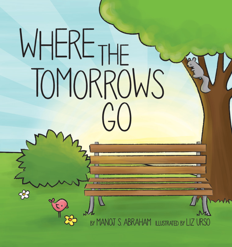 Cover of Manoj Abraham's book Where The Tomorrows Go.