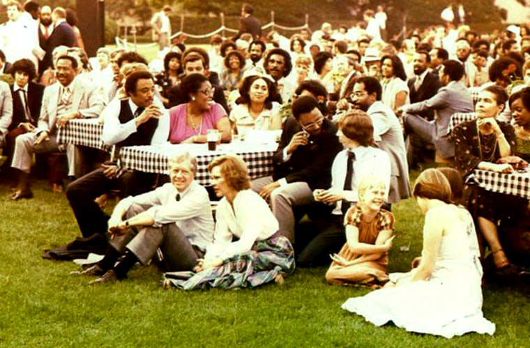 The 1979 White House Black Music Month picnic.