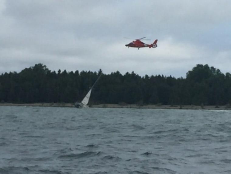 IMAGE: Coast Guard rescue