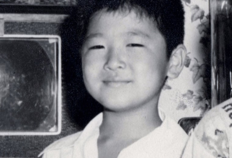 Mia Yamamoto, as a boy, when she was known as Michael.