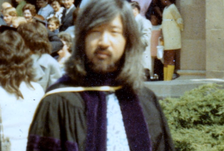 Mia Yamamoto as a student, when she was known as Michael.