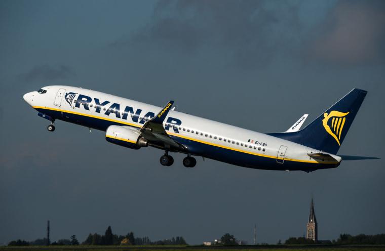 Image: Ryanair jet