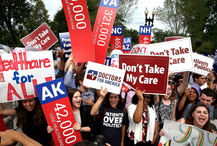 Image: Supreme Court To Issue Landmark Rulings On Obamacare