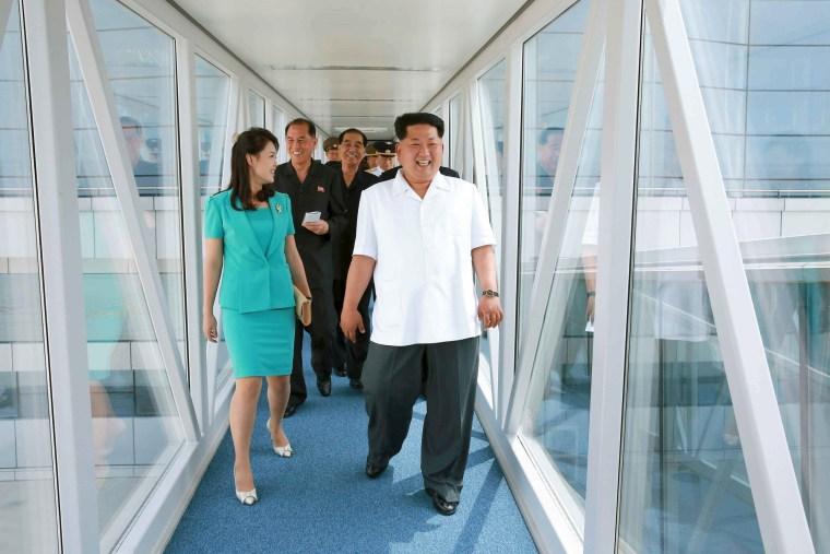 Image: New terminal in Pyongyang International Airport