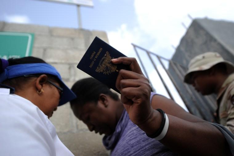 Image: HAITI-DOMINICAN REPUBLIC-MIGRATION