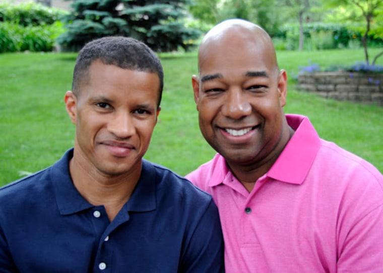 DeWayne Davis and Kareem Murphy approach their 24 year anniversary together.