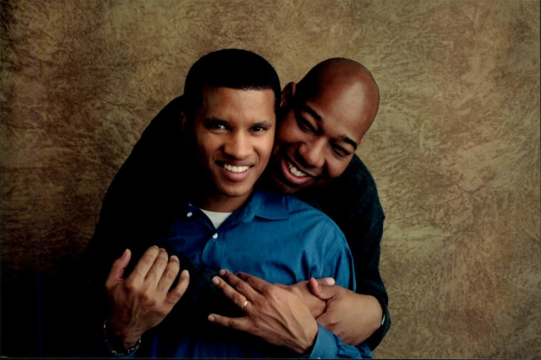 DeWayne Dennis and Kareem Murphy have been together for 24 years.