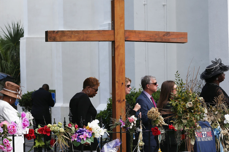 Image: Funeral Services Continue For Victims Of Charleston Church Shooting