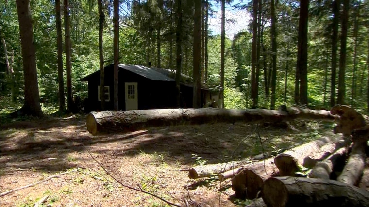 NBC Exclusive Look Inside Cabin Where Escapees Hid