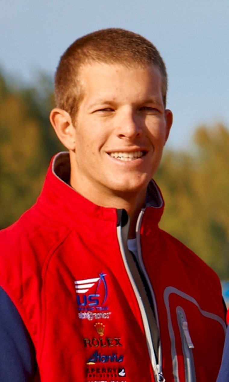 Image: Handout photo of Olympic sailor Trevor Moore