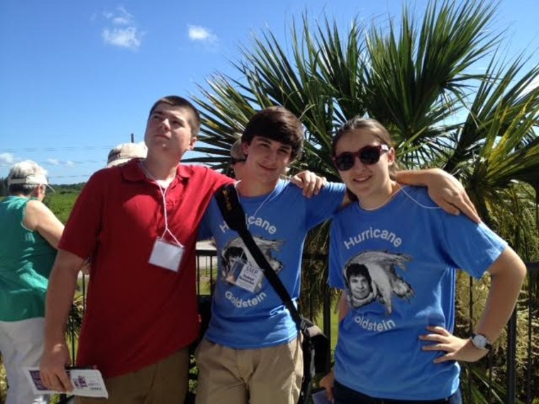 Palmetto Scholars Academy's Tin Whiskies team includes Gabe Voigt, Joseph Garvey and Rachel Lindbergh.