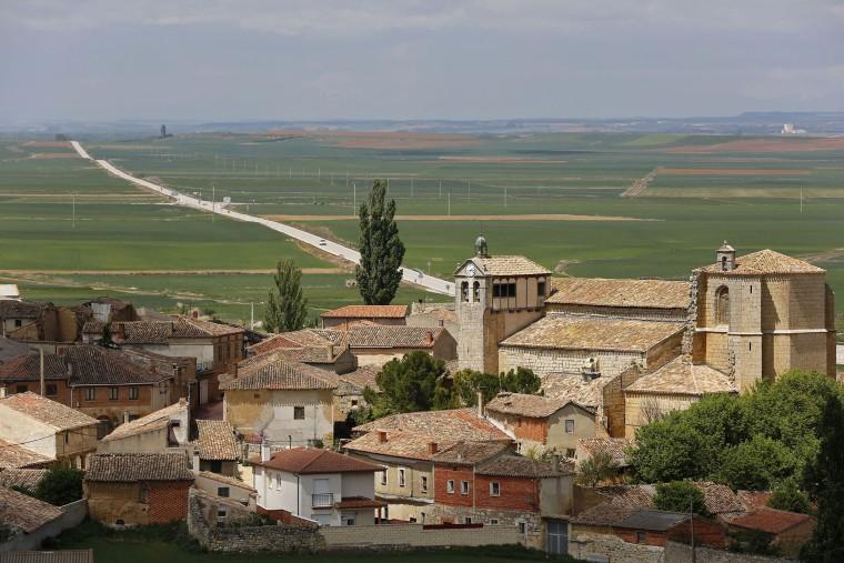 Image: The small Spanish town of Castrillo Matajudios