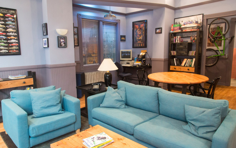 An inside look at Jerry Seinfeld's iconic TV apartment