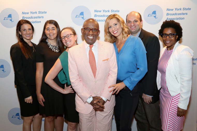 Al Roker gets inducted to the New York Broadcasters Hall of Fame