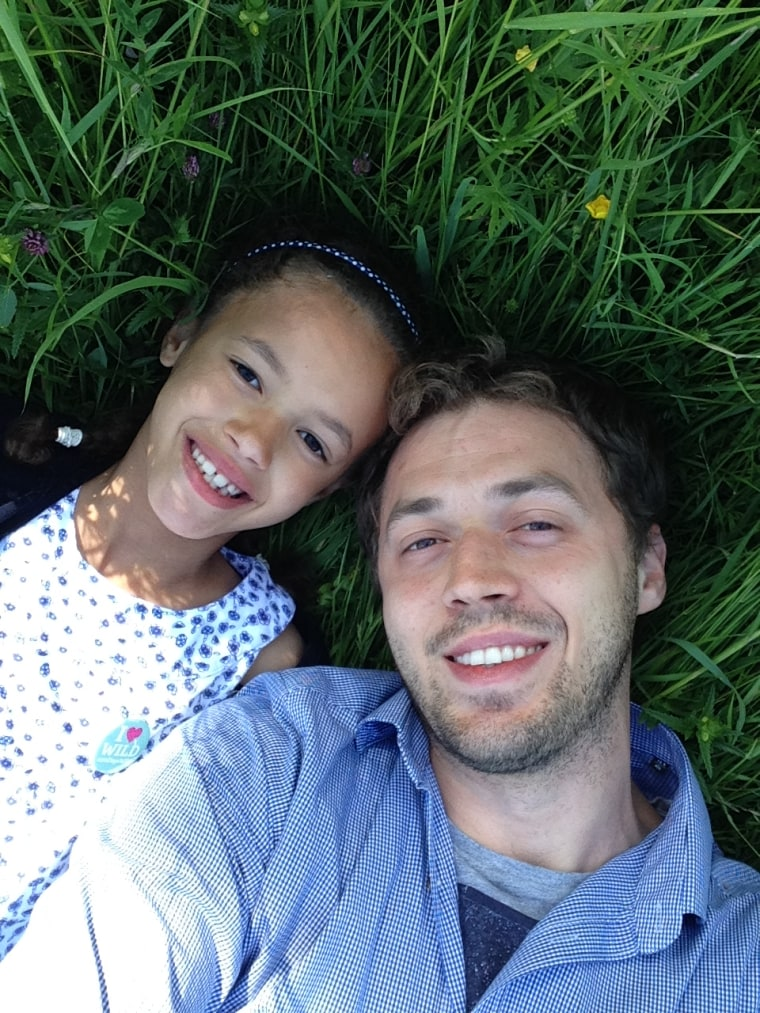 """Lee Beck told TODAY.com that while he and his daughter Amélie enjoyed their """"39 Random Acts of Kindness,"""" the next installment will be done privately."""