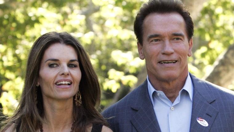 Image: Arnold Schwarzenegger, Maria Shriver