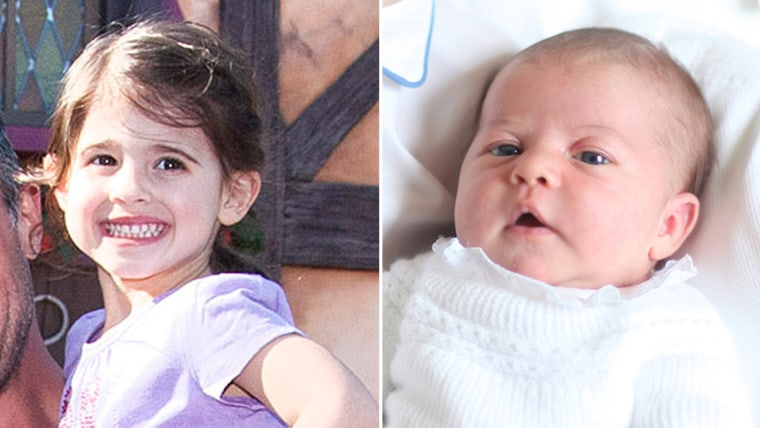 Sarah Michelle Gellar's daughter and Princess Charlotte