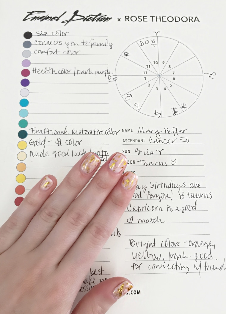 What's your sign? Nail salon matches mani to your astrology