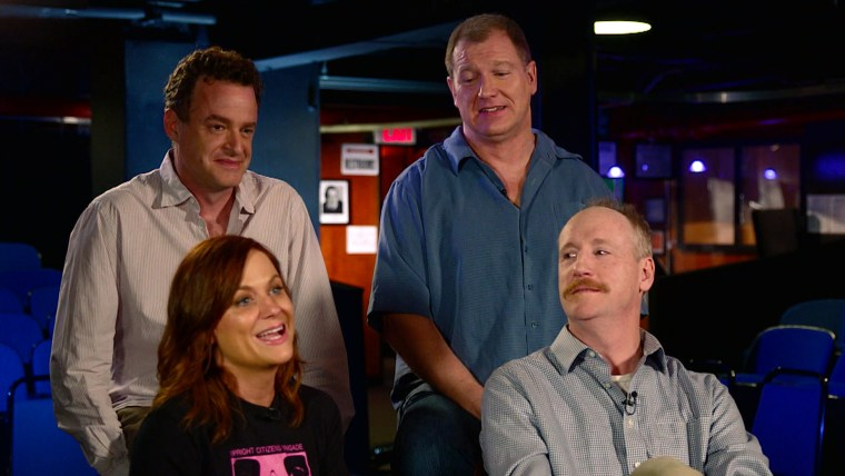 Amy Poehler and Upright Citizens Brigade mark 25th anniversary
