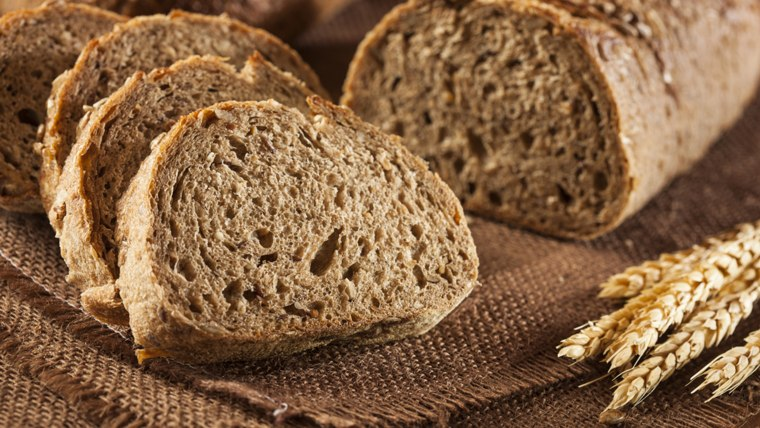 Fresh Homemade Whole Wheat Bread.