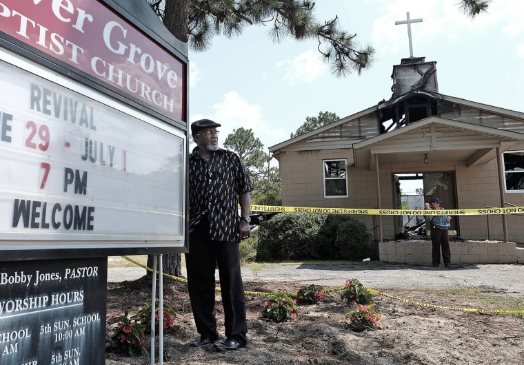 Image: Glover Grove Baptist Church in Warrenville, South Carolina