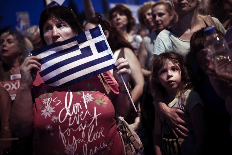 Image: GREECE-ECONOMY-POLITICS-EU-IMF
