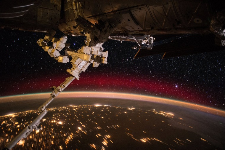 Month in Space: Trip the Light Fantastic on the Final Frontier