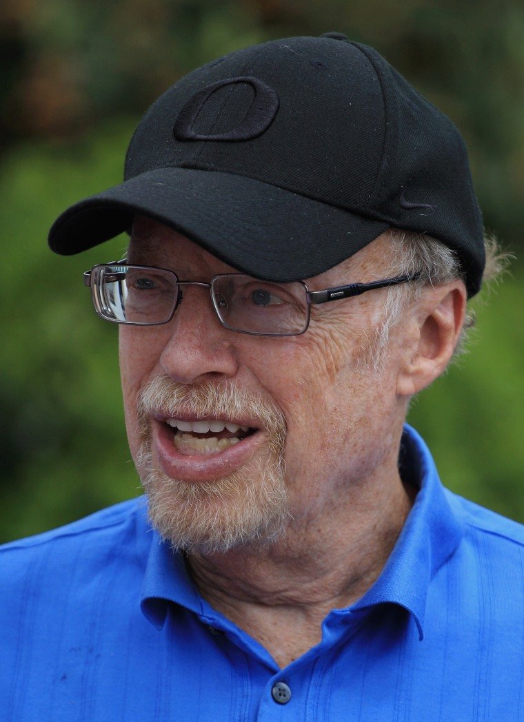 Image: FILE: Nike Founder Phil Knight to Step Down as Chairman